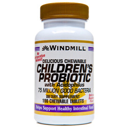 Windmill- Probiotic Childs, 100 Chews