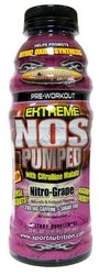 Worldwide Sport Nutrition- Extreme NOS Pumped, Grape, 20oz (12 pack)