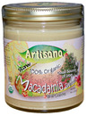 Raw Macadamia Butter with Cashews, 100% Organic, 8oz