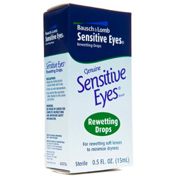 Bausch & Lomb- Rewetting Drops, Sensitive Eyes, .66oz