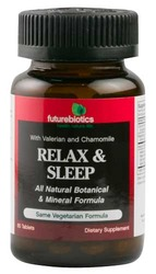 Futurebiotics- Relax & Sleep Formula, 60 Tablets