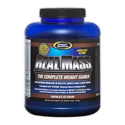 Gaspari- Real Mass, Chocolate, 5.95lbs