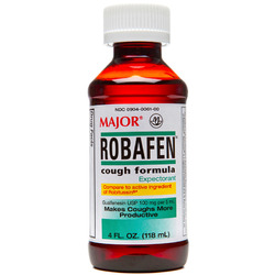 Major Pharmaceuticals- Robafen Syrup 100mg/5ml, 4floz Liquid