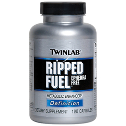 Twinlab- Ripped Fuel, 120 capsules