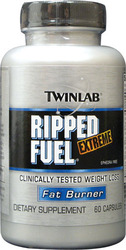 Twinlab- Ripped Fuel Extreme, 60 capsules