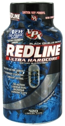 VPX- Redline Ultra Hardcore, 120 Softgels