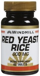 Windmill- Red Yeast Rice Tabs, 60 Tablets