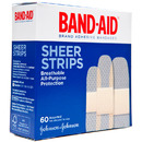 Sheer Adhesive Bandages, Assorted Sizes (60 count)