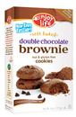 Soft Baked, Double Chocolate Brownie Cookies, 6oz