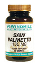 Saw Palmetto, 160mg, 60 Capsules