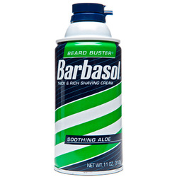 Barbasol- Shaving Cream, Soothing Aloe, 11oz