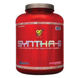 BSN- Syntha 6, Strawberry, 5lb