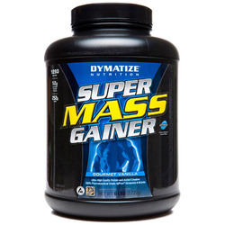 Dymatize- Super Mass Gainer, Vanilla, 6lbs