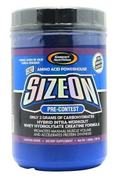 Gaspari- Size On, Pre-Contest, Grape, 1.65lb