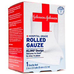 Johnson & Johnson- Sterile Rolled Gauze, 2