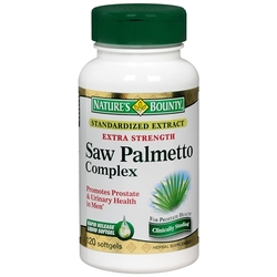Nature's Bounty- Saw Palmetto Complex, Extra Strength, 120 softgels