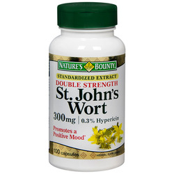 Nature's Bounty- St John's Wort Standardized Extract, 300mg, 100 capsules