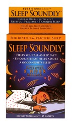 NutritionWorks- Sleep Soundly, 45 Tablets