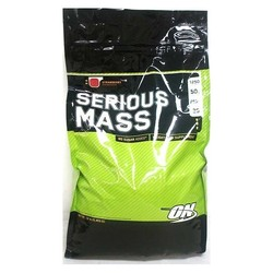 Optimum Nutrition- Serious Mass, Strawberry, 12lbs