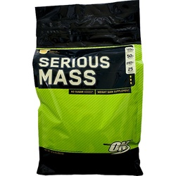 Optimum Nutrition- Serious Mass, Vanilla, 12lbs