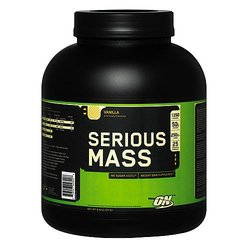Optimum Nutrition- Serious Mass, Vanilla, 6lbs