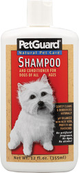 PetGuard- Shampoo & Conditioner, 12oz