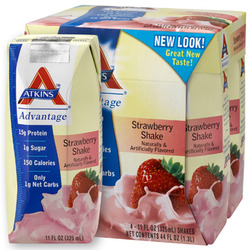 Atkins- Strawberry Shakes (4 pack)