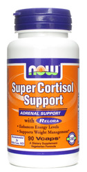 Now Foods- Super Cortisol Support, Relora, 90 vegetarian capsules