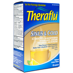 Theraflu- Sinus & Cold (6 pack)