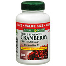 Triple Strength Cranberry with Vitamins C, 250 softgels