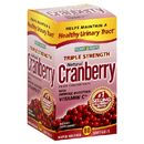 Nature's Bounty- Triple Strength Cranberry with Vitamins C, 60 softgels