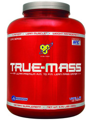 BSN- True Mass, Vanilla, 5.75lbs