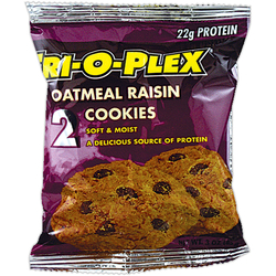 Chef Jay's- Tri-O-Plex, Oatmeal Raisin Cookie (12 pack)