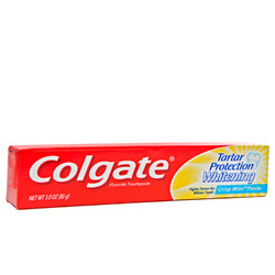 Colgate- Tartar Whitening Tooth Paste, 3oz