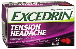 Excedrin- Tension Headache Pain Reliever, 24 caplets