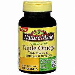 Nature Made- Triple Omega 3-6-9, 60 Softgels