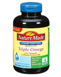 Nature Made- Triple Omega 3-6-9 Value Size, 150 Softgels