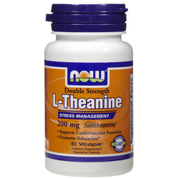 Now Foods- Theanine,  200mg, 60 vegetarian capsules