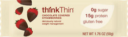 Think Thin- Chocolate Covered Strawberry Bar (10 pack)
