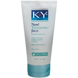K-Y- Tingling Jelly, Personal Lubricant, 5oz