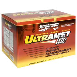 Champion Nutrition- Ultemet, Lite Vanilla (20 pack)