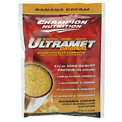 Champion Nutrition- Ultramet, Banana (60 pack)