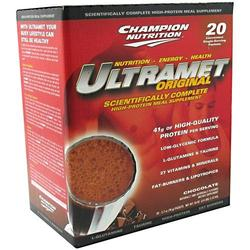 Champion Nutrition- Ultramet, Chocolate (20 pack)