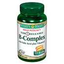 Vitamin B-Complex with Folic Acid plus Vitamin C, 100 tablets