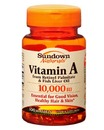 Vitamin A, 10,000IU, 100 softgels