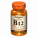 Vitamin B-12, 1000mcg Time Release, 60 tablets