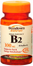Vitamin B-2, 100mg, 100 tablets