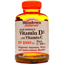 Vitamin D3 1000IU with Vitamin C 500mg, 200 softgels