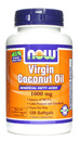 Virgin Coconut Oil, 1000mg, 120 softgels