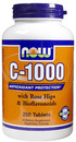 Vitamin C-1000, Time Released, Rose Hip, 250 tablets